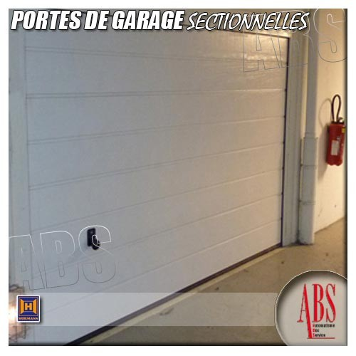 Portes sectionnelles garage for Montage porte de garage sectionnelle hormann