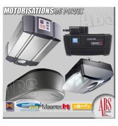 Moteur et accessoires de portes de garage box en sous-sol