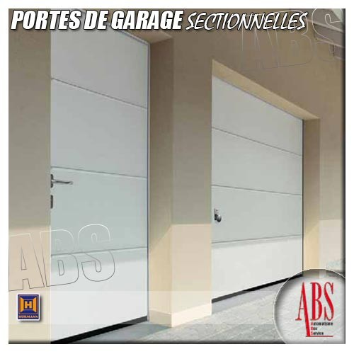 Portes de garage sectionnelles hormann for Porte de garage sectionnelle soprofen