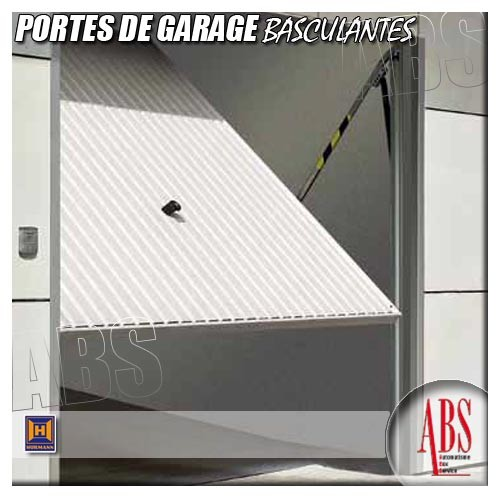 Portes de garage basculantes for Porte de garage 5m hormann