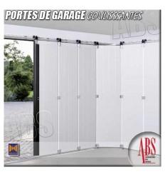 Portes de garage coulissantes à déplacement latéral