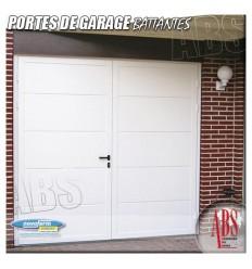 Portes de garage battantes
