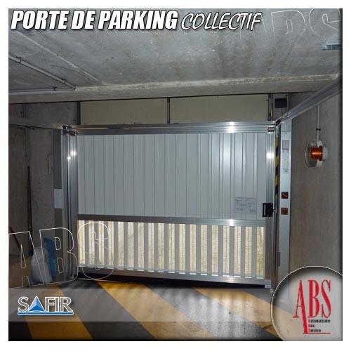 Porte de parking collectif abs boxes - Norme porte de garage collective ...