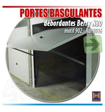Portes de garage basculantes Berry N80 Hormann pour boxes en sous-sol