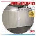 Portes de garage battantes - Boxes en sous-sol