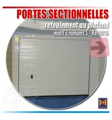 Portes de garage sectionnelles Hormann - Boxes en sous-sol