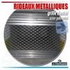 Rideaux métalliques avec lames pleines et ajourées pour box en sous-sol