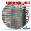 Rideaux métalliques avec lames micro perforées