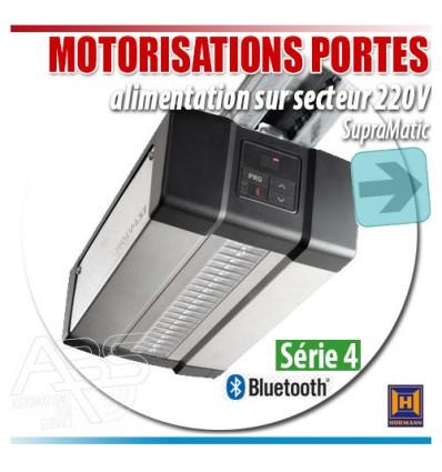 Moteur de portes de garage avec alimentation sur secteur en 220V