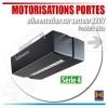 Moteur Promatic Hormann pour portes de garage avec alimentation en 220V
