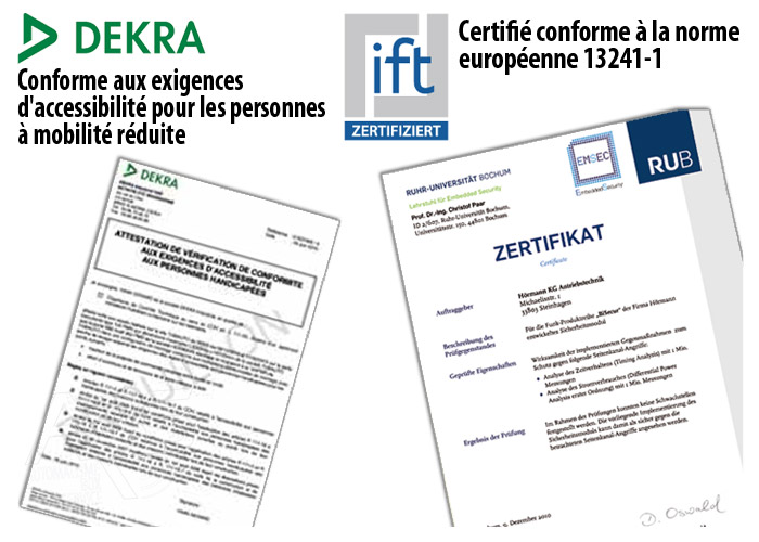 Certification Hôrmann