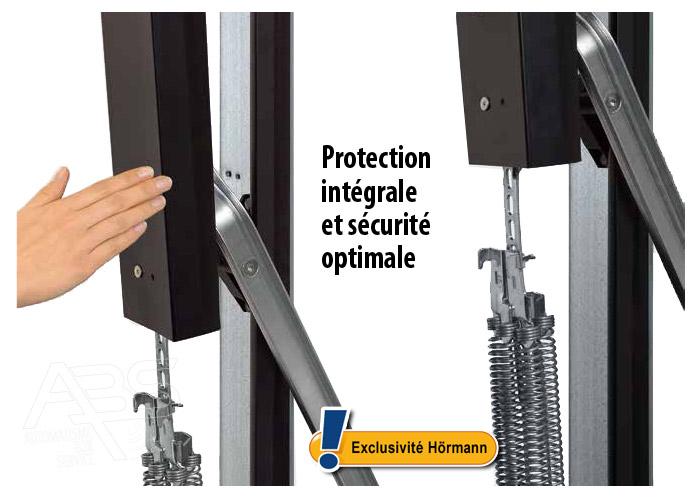 Portes de garage basculantes box hormann - Ressort de porte de garage hormann ...