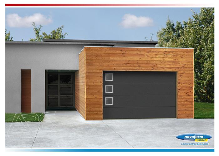 Ressort porte de garage basculante novoferm perfect porte for Porte de garage simon