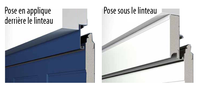 Portes de garage sectionnelles hormann for Porte de garage avec pose