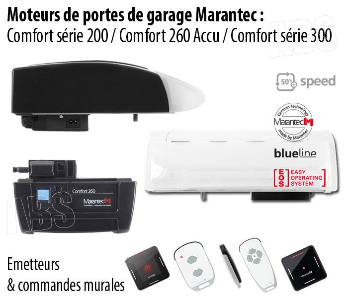 Motorisation porte de garage marantec abs boutique for Moteur nice porte garage