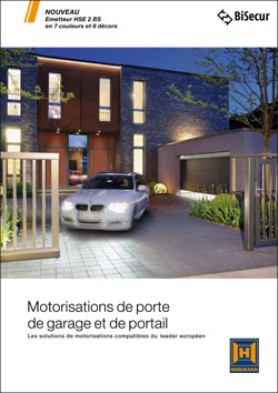 Documentation motorisations HORMANN