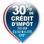 30% de crédit d'impôt